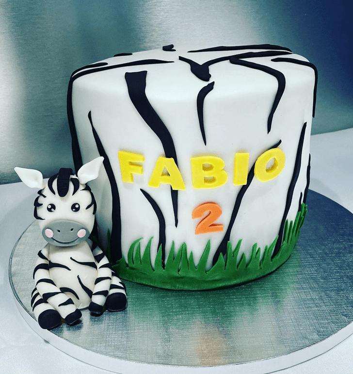 Divine Zebra Cake