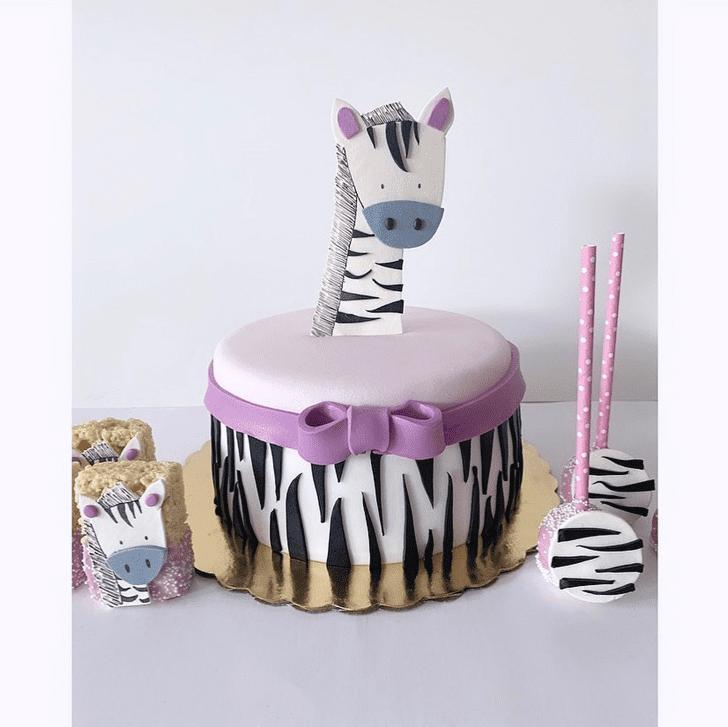 Fair Zebra Cake