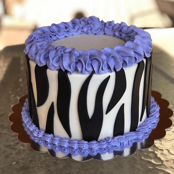 Gorgeous Zebra Cake