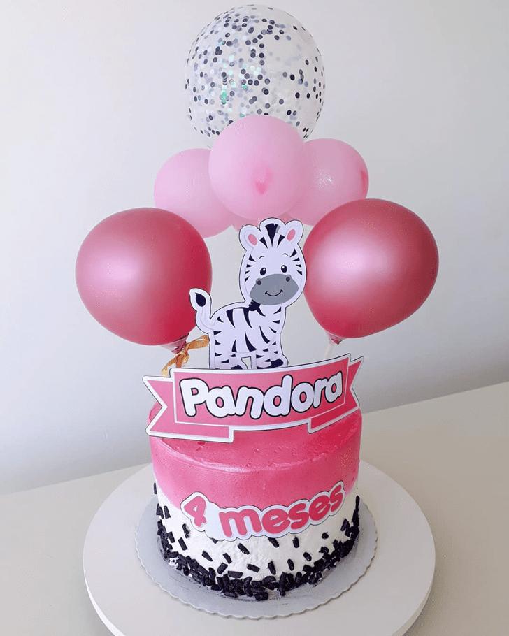 Grand Zebra Cake