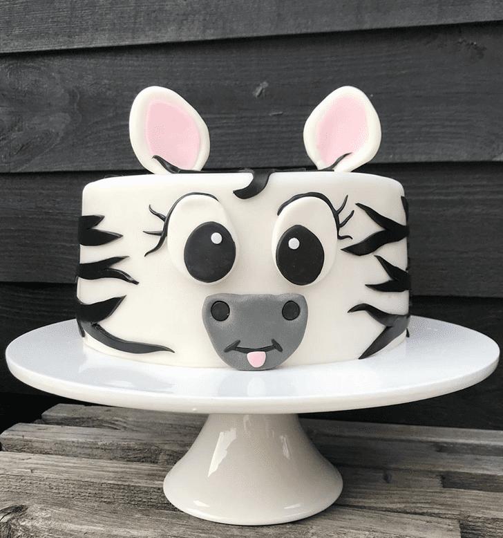 Handsome Zebra Cake