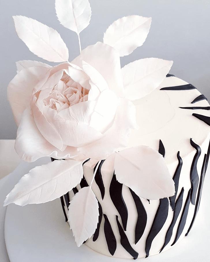 Nice Zebra Cake