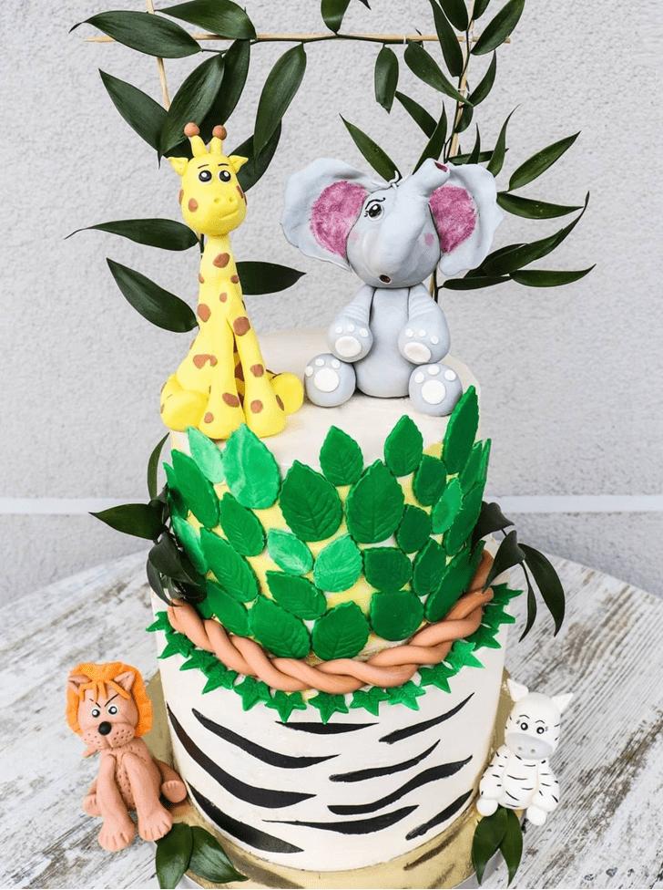 Refined Zebra Cake