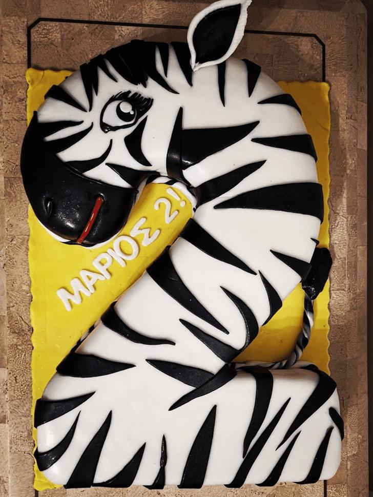 Resplendent Zebra Cake