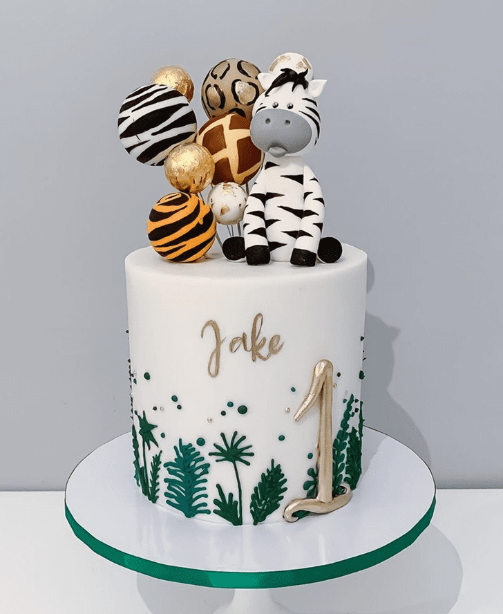 Splendid Zebra Cake