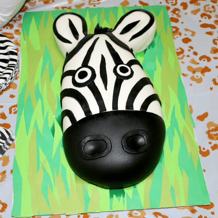 Wonderful Zebra Cake Design