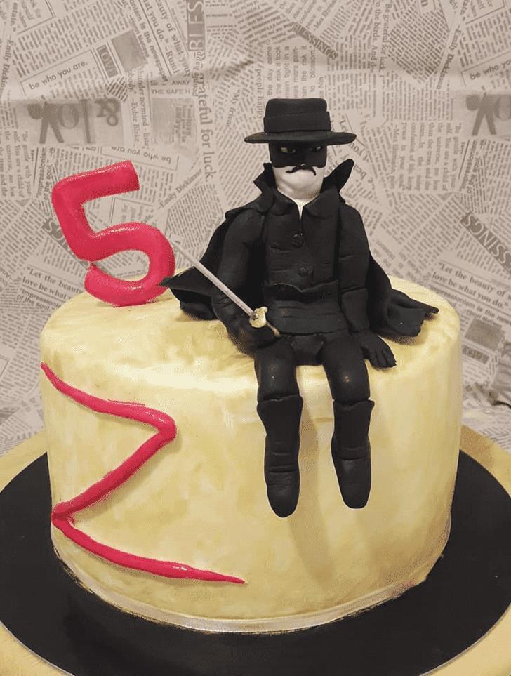 Adorable Zorro Cake