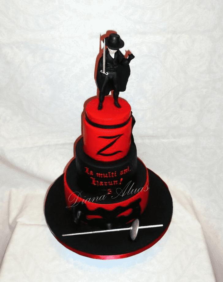 Appealing Zorro Cake