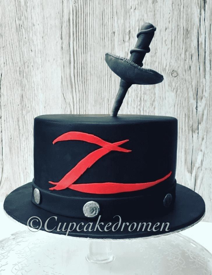 Bewitching Zorro Cake