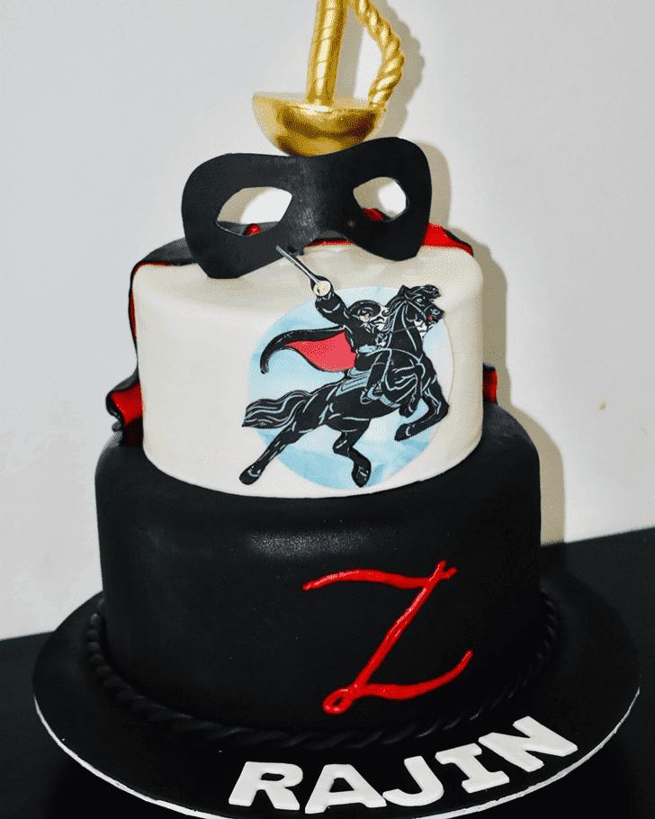 Captivating Zorro Cake