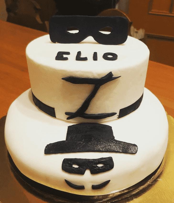 Classy Zorro Cake