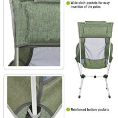 Compact Camping Chair Kitchen Covers Dunelm Marchway Lightweight Folding High Back With Headrest