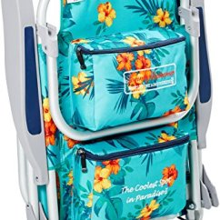 Tommy Bahama Cooler Chair Office Stool With Wheels Backpack Storage Pouch And Towel Bar