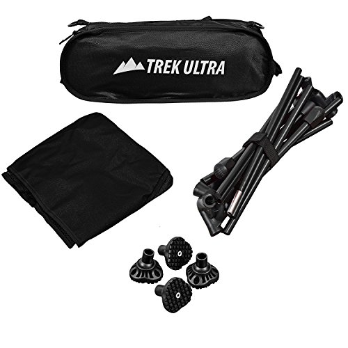 Trekultra Portable Compact Lightweight Camp Chair With Bag