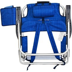 Tommy Bahama Backpack Cooler Chair Blue Modern Outdoor Chairs 2 With Storage Pouch And Towel