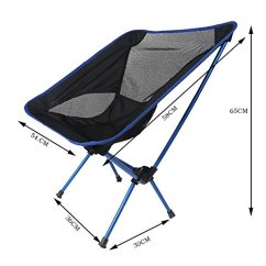 Compact Camping Chair U Shaped Cushions With Ties Gade10 Ultralight Portable Folding Carry Bag