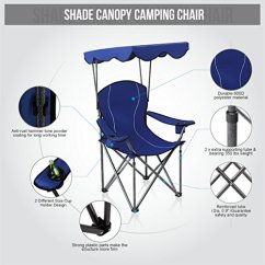 Folding Canopy Chair Hanging Homestore And More Alpha Camp Shade Camping Support 350 Lbs