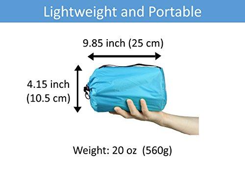 TREKOLOGY UL Camping Mat Sleeping Pad Camping Mattress UL80 Inflatable Roll