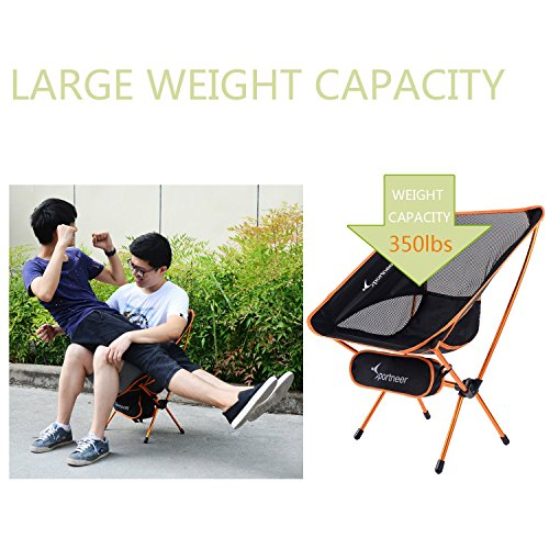 lightweight folding chairs hiking porch swing chair australia sportneer portable camping 2 pack for