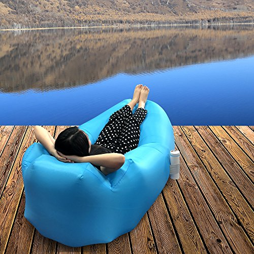 air bag chair rolling shower dimoxii inflatable lounger sofa waterproof with carrying