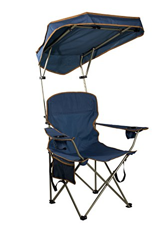folding canopy chair standing workstation max shade navy best camp kitchen