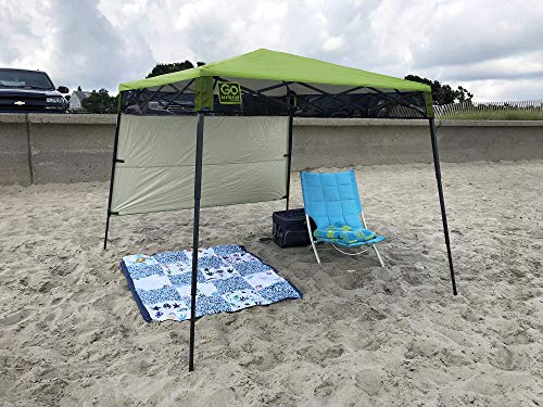 Quik Shade 7 X 7 Go Hybrid Pop Up Compact And Lightweight Slant Leg Backpack Canopy Best Camp Kitchen