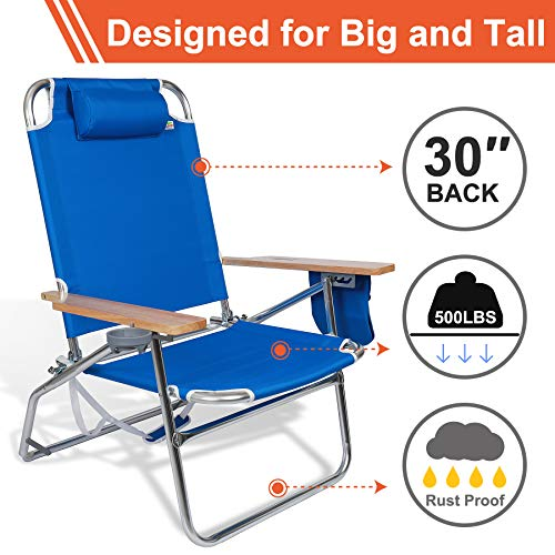 heavy duty folding chairs outdoor red accent chair 690grand high capacity 500lbs for big and