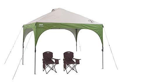 Coleman Canopy Tent with Instant Setup | Sun Shade with 3 Minute Set Up
