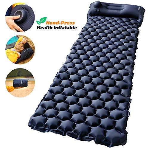 Self-Inflating Sleeping Mattress with Pillow Waterproof Camping Mat Pads