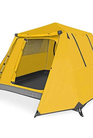 Kazoo Family Camping Tent Large Waterproof Pop Up Tents 4