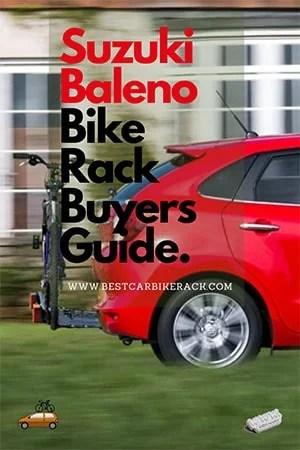 Suzuki Baleno Bike Rack Buyers Guide