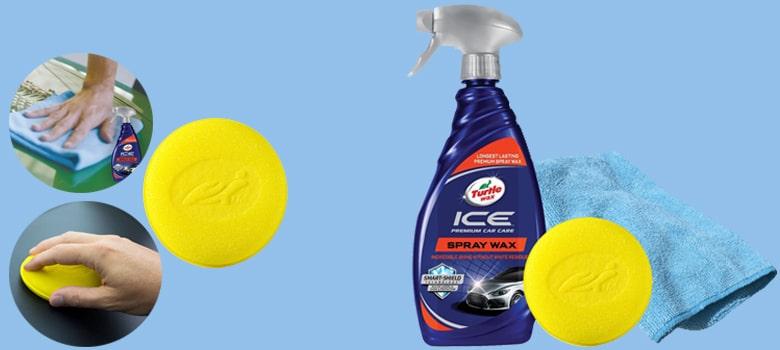 turtle wax ice spray wax