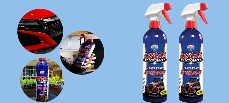 Lucas Slick Mist Fast & Easy Speed Wax Detailing Spray