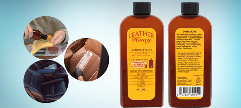 Leather Honey cleaner and conditioner