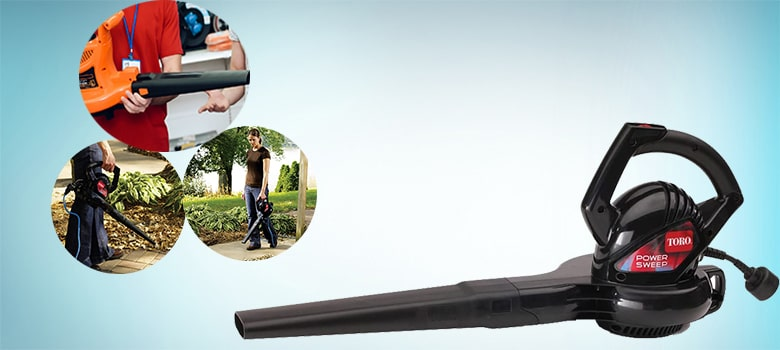 Toro 51585 Power Sweep Electric Leaf Blower