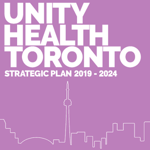 Unity Health Toronto strategic plan