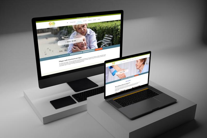 Webdesign Pflegemarketing