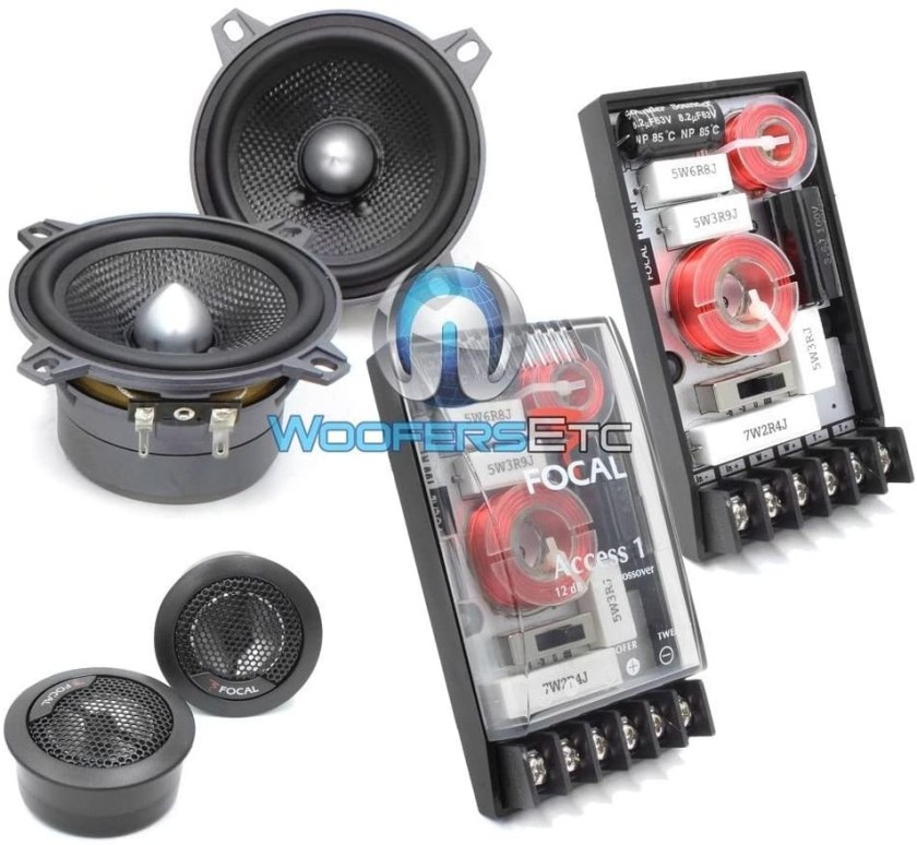 Best 4-Inch Component Car Speakers 100A1 SG - focal 4-inch component speakers