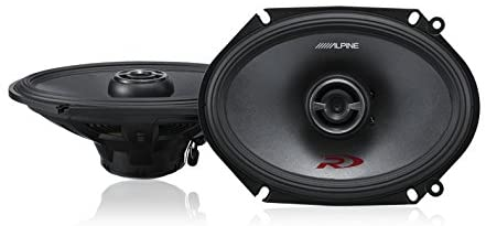 Alpine SPR-68 6x8 Coaxial 2-Way Type-R Speaker Set