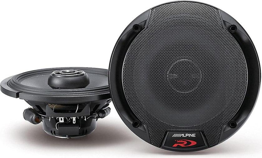Alpine SPR-60 6-12 Coaxial 2-Way Type-R Speaker Set