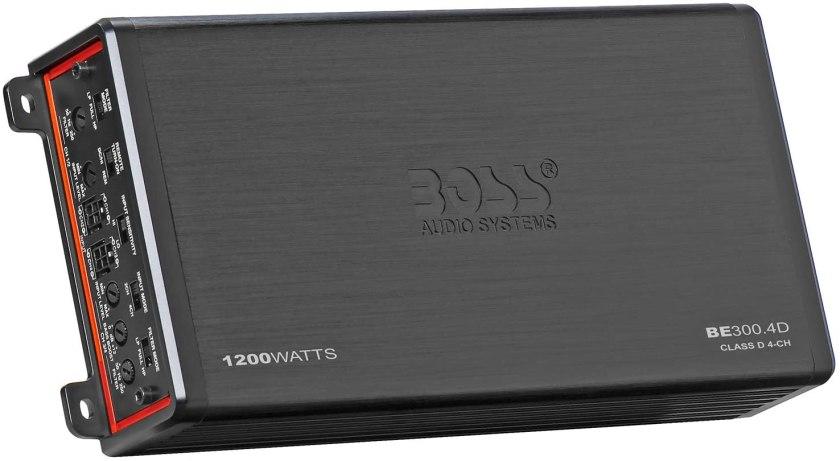 BOSS Audio Systems Elite BE300.4D Amplifier Best 4 Channel Amplifiers Under $200