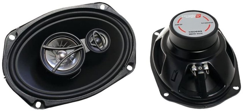 CERWIN VEGA XED693 Coaxial Speaker Best Car Speakers For The Money