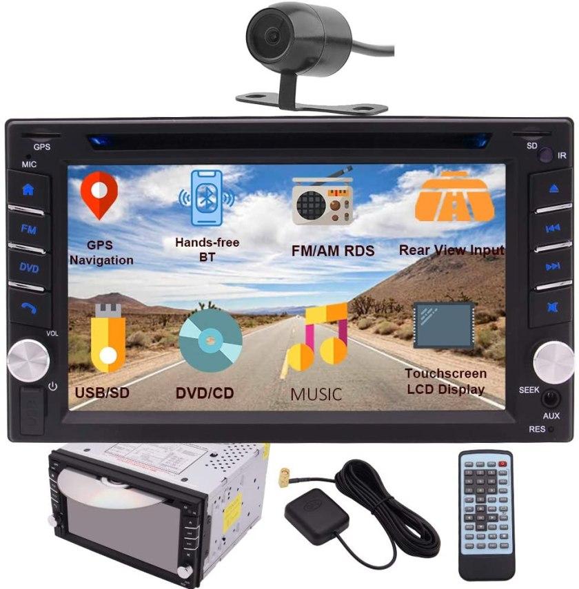 EINCAR Double DIN Car Stereo Best Double Din Car Stereo Under $200