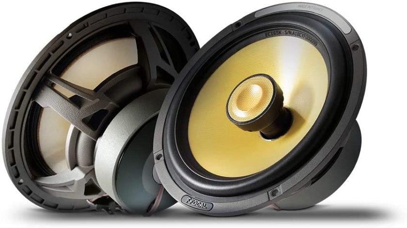 Focal EC165K K2 Power 6.5 Coaxial Speakers