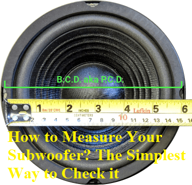 How to Measure Your Subwoofer The Simplest Way to Check it