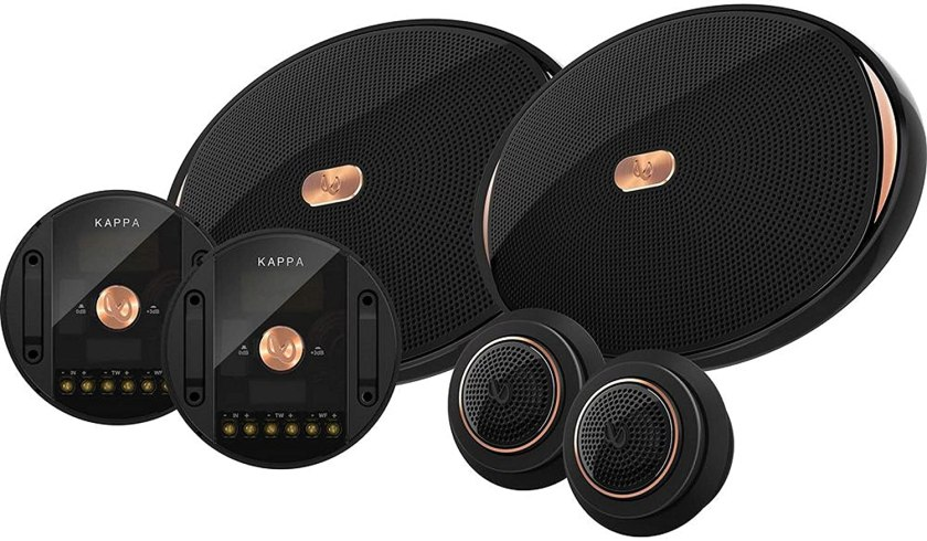 Best 6x9 Speakers for Bass Without Amp Infinity KAPPA-90CSX Component Speakers