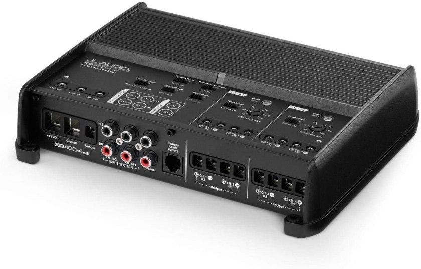 Best 4 Channel Car Amp for Sound Quality JL Audio XD4004v2 4 channel car amplifier