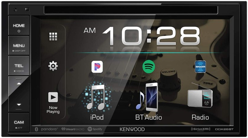 Kenwood DDX26BT Double DIN Car Stereo Best Double Din Car Stereo Under $200