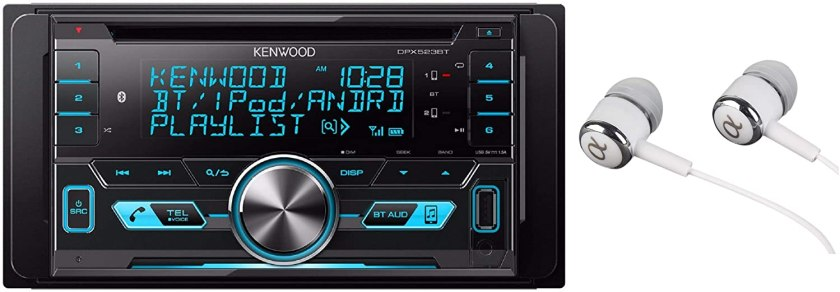 Best Double Din Head Unit Under $200 Kenwood Double-DIN In-Dash Car Stereo....