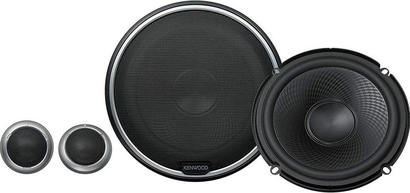 Kenwood KFC-P710PS 280 Watts Best 6.5 Component Speakers Under $200